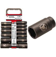 """BGS-95207 Levegős dugókulcs készlet 10 - 32mm 1/2"""""""" hosszított 13 részes"""