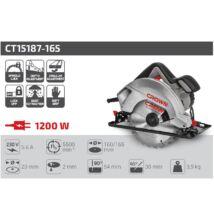 Crown CT15187-165 körfûrész 1200 W 54 mm