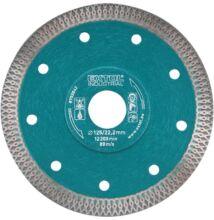 Extol industrial 8703042 gyémántvágó ipari korong 1,2mm vágás 125X22,2mm