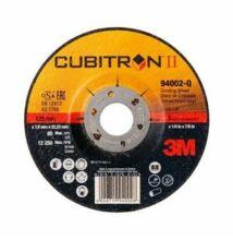 Cubitron II 3M süllyesztett agyú tisztítókorong, 125 mm