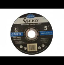 Geko G78211 Vágókorong fémre 125x1.0 Inox