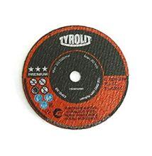 Tyrolit vágókorong 75x1,0x10 A60R Inox Premium Inox