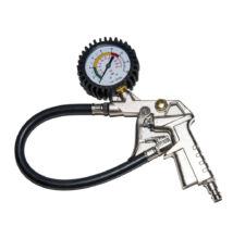 Kerékfújó (pumpálófej), nyomásjelző órával, 16bar WT04690
