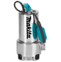 Makita PF1110 elektromos szivattyú 1100W inox szennyezett vízhez