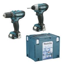 Makita CLX201SAX6  Makita akkus gépszett + hűthető Makpac 10,8V