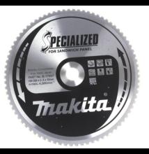 Makita B-17697  körfűrészlap 355x30x80 szendvicspanelhez
