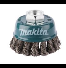 D-24153  Makita fazék drótkefe sodrott, erősített 60mm M14