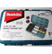 """Makita P-90576 1/2"""" gépi dugókulcs készlet"""