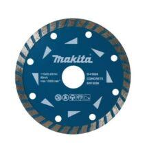 Makita D-41632 gyémánttárcsa TURBO 125mm