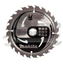 Makita B-08062  Mforce körfűrésztárcsa 190/15,88mm Z24