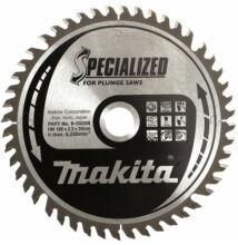 Makita B-09276 Specialized körfűrésztárcsa 160x20mm Z48