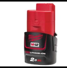 Milwaukee M12B2 akkumulátor 2.0Ah (4932430064)