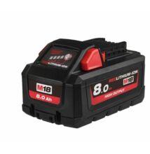Milwaukee M18 HB8 akkumulátor  8Ah High Otput (4932471070)