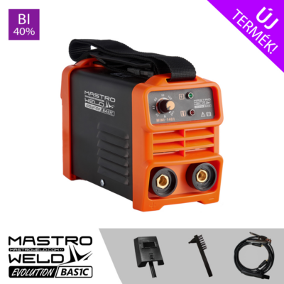 Mastroweld  Basic MINI-140 I Evolution hegesztő inverter