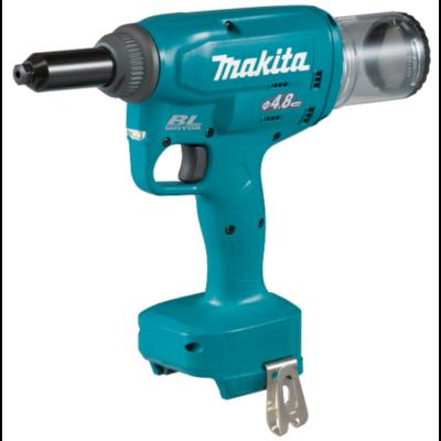 Makita DRV150Z akkus popszegecshúzó 2,4-4,8mm (akku és töltő nélkül)