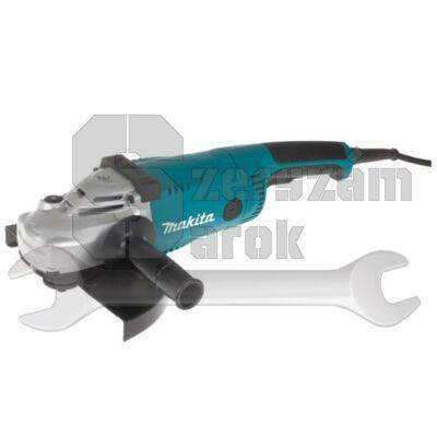 Makita GA9020RFK  sarokcsiszoló lágyindítással + koffer 230mm 2200