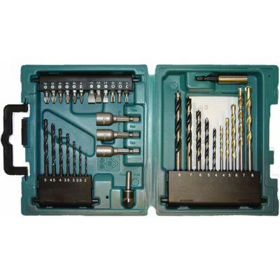 Makita D-36980 fúró-csavarbehajtó készlet 34-db-os