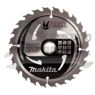 Makita B-08006  Mforce körfűrésztárcsa 165x20mm Z24