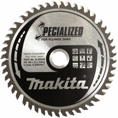 Makita B-09298 Specialized körfűrésztárcsa 165x20mm Z48