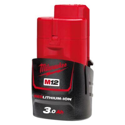 Milwaukee M12B3 akkumulátor 12V 3Ah (4932451388)