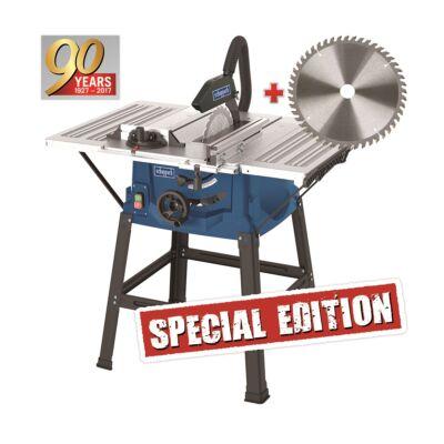 Scheppach HS100S Special asztali körfűrész + fűrészlap 48 f.